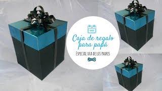 Caja de regalo para el dia de los padres ♥ Hazlo Bonito DIY