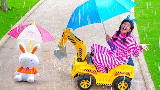 Rain Rain Go Away Song Nursery Rhymes for Kids Family Fun 2