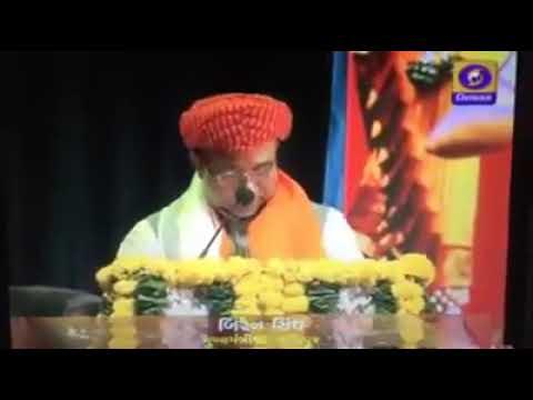 Manipuri CM Biren na Gujarat ta pikhiba full speech