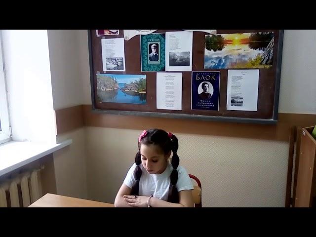 Изображение предпросмотра прочтения – ОфелияБабаева читает произведение «Ворона» А.А.Блока