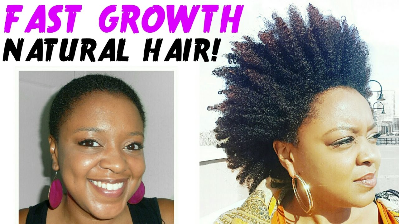 Ways To Grow Natural Black Hair