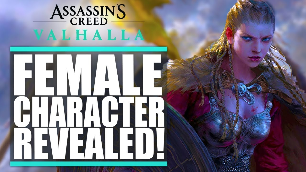 Female Protagonist Revealed Assassin S Creed Valhalla Campaign