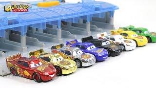 Learning Color Disney Cars Lightning McQueen Mack Truck Play set for kids car toys