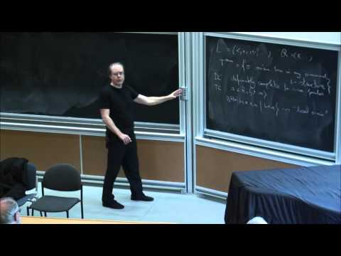 Hans Schoutens: O-minimalism: the first-order properties of o-minimality