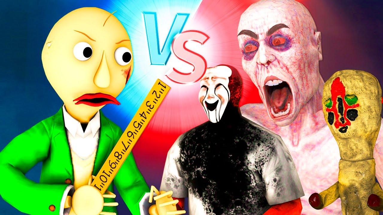 Балди vs SCP - ФИЛЬМ (Ной Все Серии Подряд Анимация 3D)