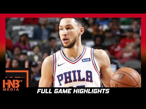 Thumbnail: Philadelphia 76ers vs Houston Rockets Full Game Highlights / Week 2 / 2017 NBA Season