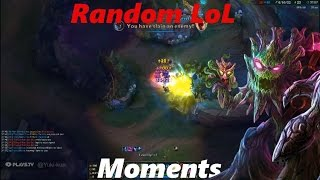Random LoL Moments - 05 - MAOKAI IS A BEAST