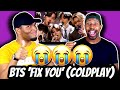 FIRST TIME HEARING BTS PERFORM LIVE NO CHOREOGRAPHY?! | BTS 'Fix You' - Coldplay Cover | Reaction