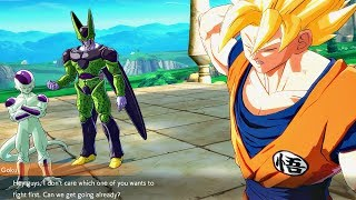 Dragon Ball FighterZ - Frieza  Cell Roasting Each Other