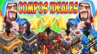 LA COMPO IDÉALE HDV 8, 9, 10, 11 & 12 | PERFECT FACILE POUR GAGNER LES GUERRES | Clash of clans