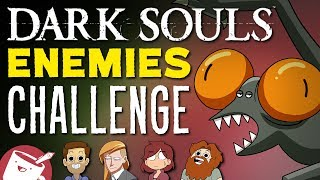 Artists Draw Dark Souls Enemies (That They've Never Seen)