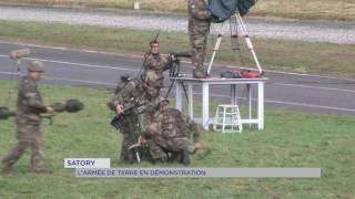 Satory : l'armée de terre en démonstration