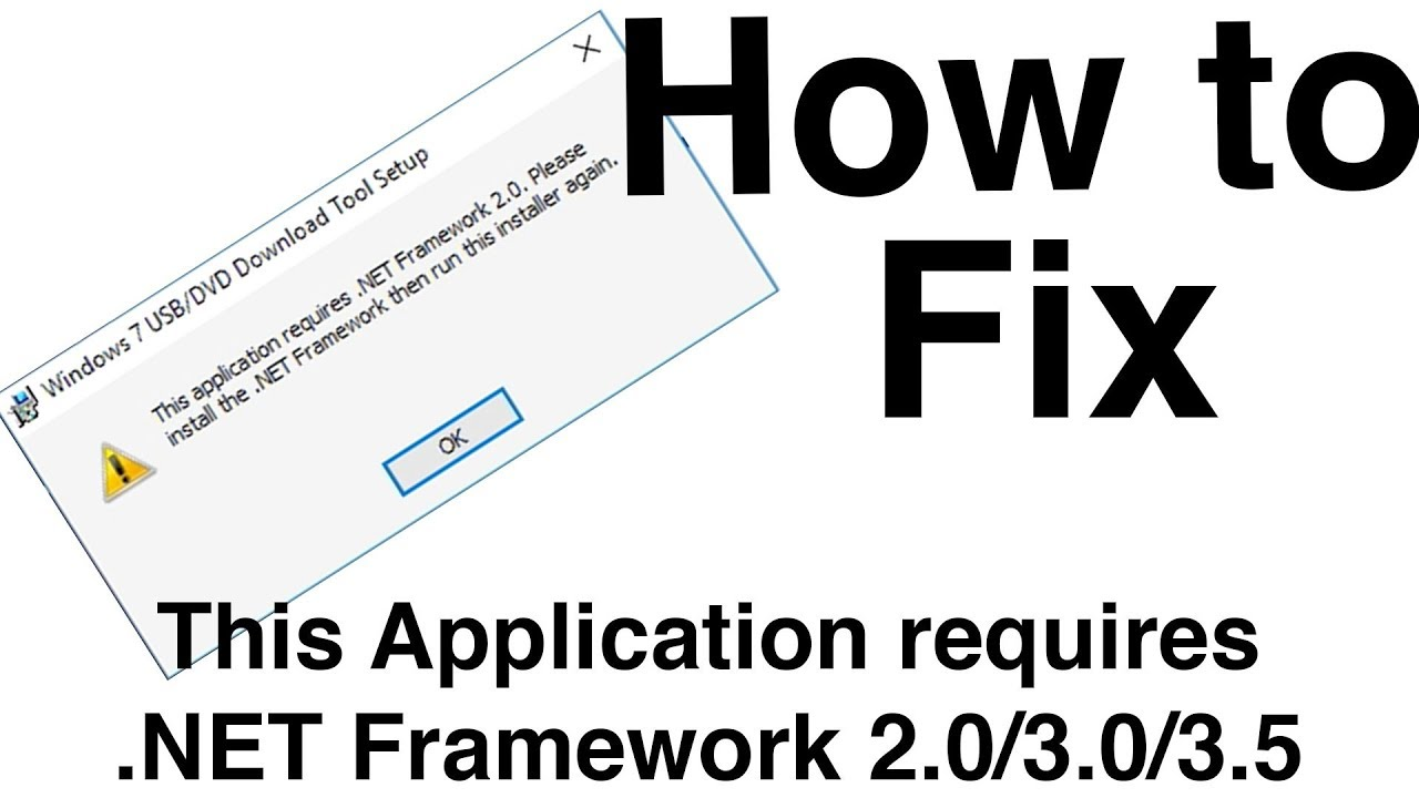 Fix. Net framework 3. 5(includes. Net 2. 0 & 3. 0)windows 8. 1/10.