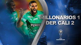 Millonarios vs. Deportivo Cali [1-2] | RESUMEN | Segunda Fase | CONMEBOL Sudamericana
