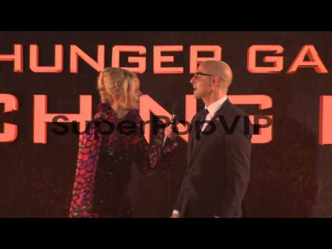 Stanley Tucci at 'The Hunger Games: Catching Fire' Premie...
