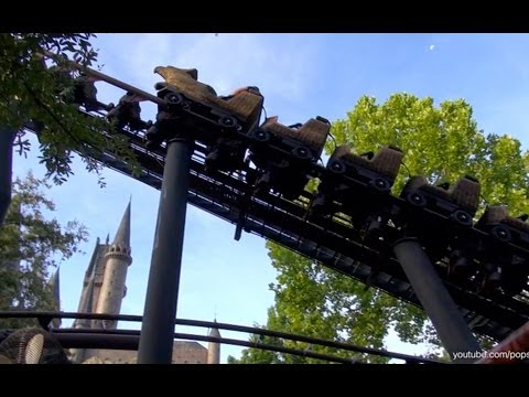 Flight of the Hippogriff Front Row POV The Wizarding World of Harry Potter Islands of Adventure