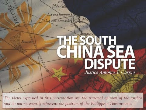 Justice Antonio Carpio on the South China Sea dispute