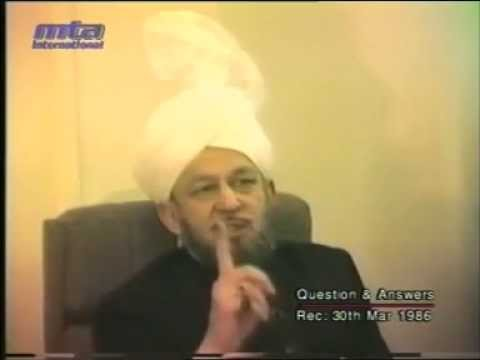 Hazrat Mirza Tahir Ahmad - Majlis E Irfan - Q&A - ( Masla E Jihad ) - by roothmens