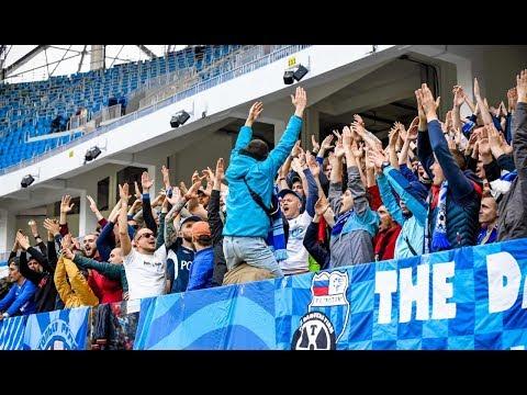 """Исландская тема в исполнения фанатов """"Ротора"""" / Rotor Fans In New Volgograd Stadium"""