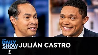 Julin Castro - A Bold and Fearless Presidential Campaign Against Trump in 2020  The Daily Show