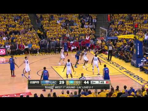 Los Angeles Clippers vs Golden State Warriors Game 4 | April 27, 2014 | NBA Playoffs 2014