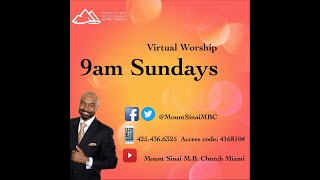 Virtual Worship, Sunday, April 26, 2020 9am