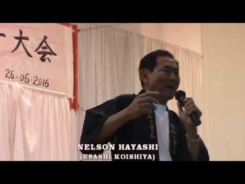 NELSON HAYASHI - ESASHI KOISHIYA - 江差恋しや - KURODA BUSHI - 黒田節
