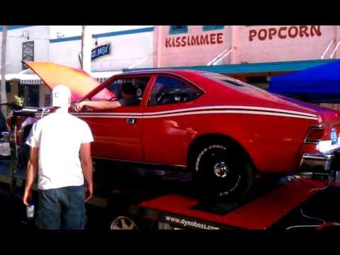 1975 AMC Hornet 304 ci 5 0 liter Dyno run