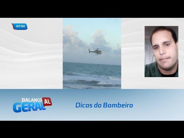 Dicas do Bombeiro: Uso de helicóptero auxilia em ocorrências de afogamento