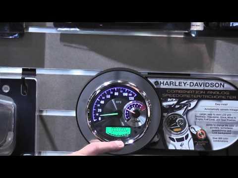 Harley-Davidson Speedometer/Tachometer Combo - YouTube