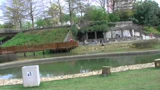 桃園區陽明運動公園親水區、景觀天橋 Yangming Park, hydrophilic regions,  ecological pond, wooden bridges