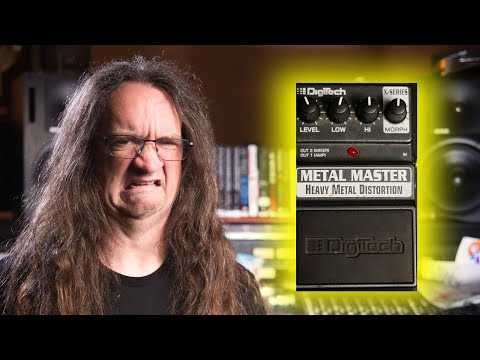 FEARLESS GEAR REVIEW:  Digitech Metal Master Distortion