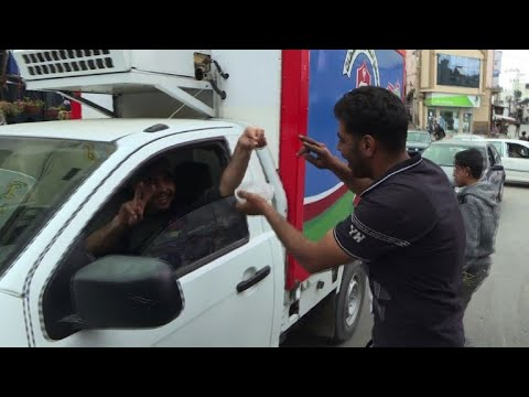 Gaza: Palestinian activists collect money to buy tires