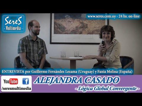 ALEJANDRA CASADO en Radio SereS - Lógica Global Convergente