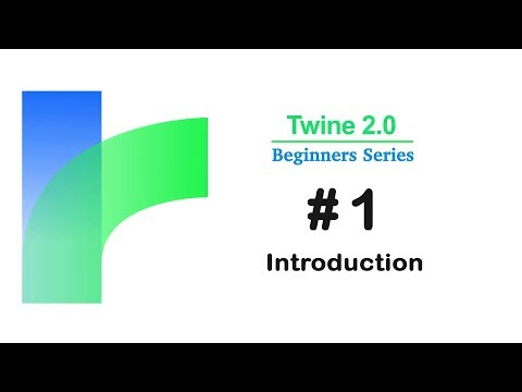Twine 2.0 - Introduction / Tutorial #1