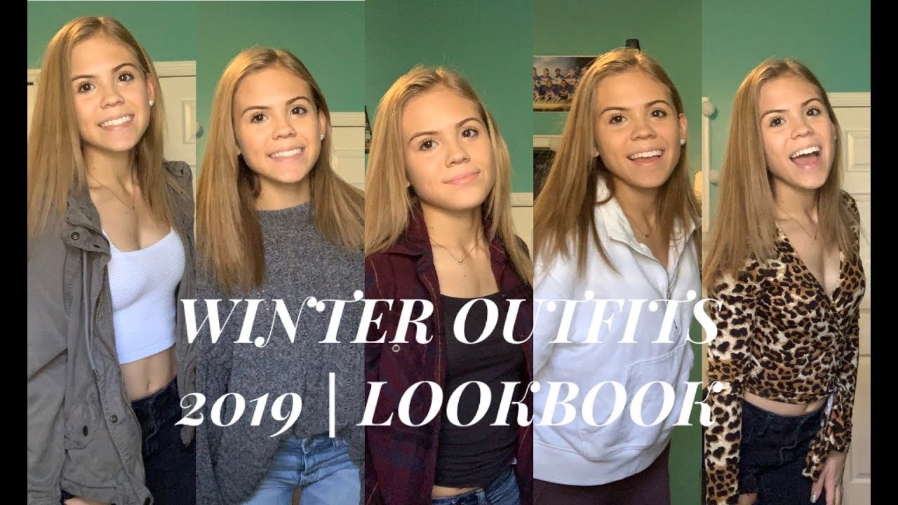 [VIDEO] - WINTER OUTFIT IDEAS 2019 | LOOKBOOK 1