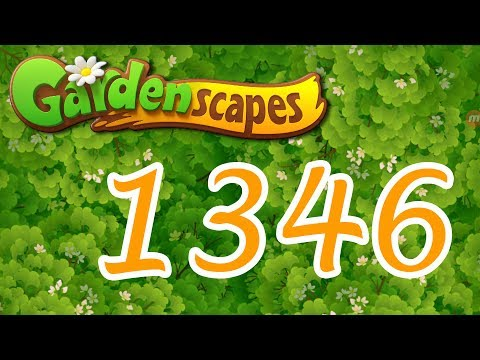 Gardenscapes level 1346