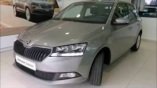 ŠKODA Nowa Fabia Hatchback Ambition Premium Comfort Beż Cappuccino 1.0TSI 95KM- prezentacja