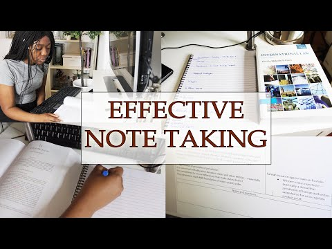 HOW I MAKE EFFECTIVE NOTES AS A LAW STUDENT (DIGITAL)