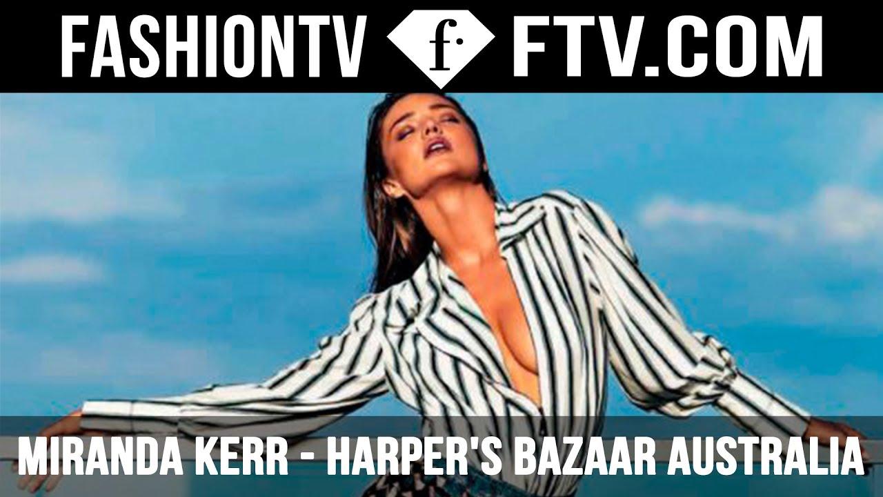 eb00fc4acc HOT! Miranda Kerr in Harper s Bazaar Australia 2016