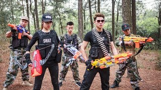 LTT Nerf War : Seal X assassin sniper Attack criminal group By Nerf Guns Rescue the lover