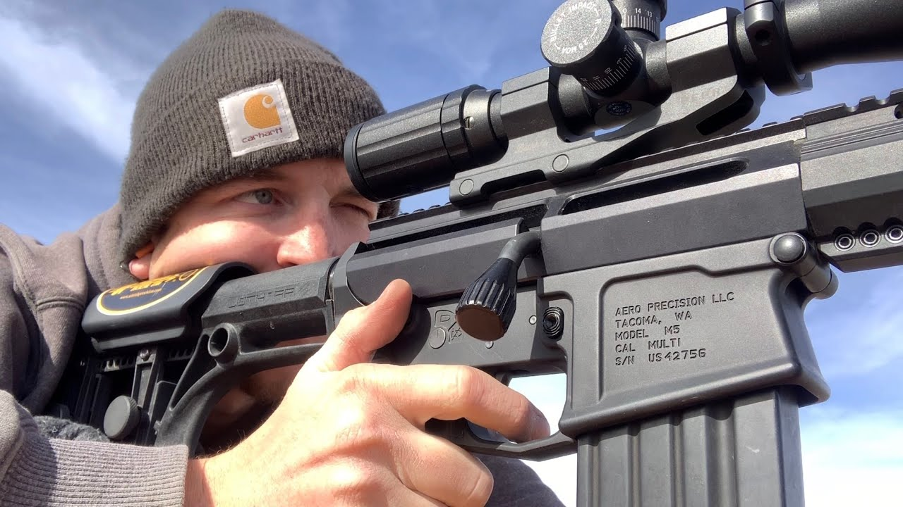 Uintah Precision Upr 10 Full Features Review Bolt Action Ar 10 Upper Youtube