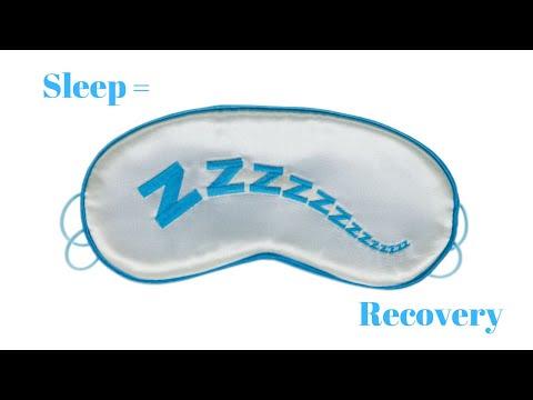 Sleep = Recovery