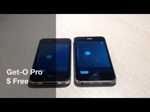 [120 сек.] Get-O Pro. Игра на двоих по Wi-Fi.