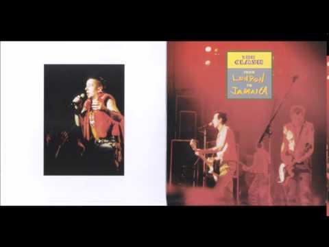 The Clash Jamaica 1982 Poster Kingston Advice Live In Jamaica POSPO Satin Portra