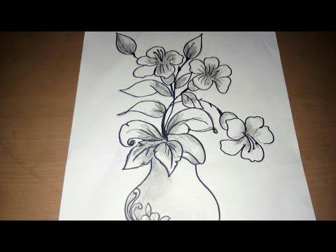 Sketsa Vas Bunga Youtube