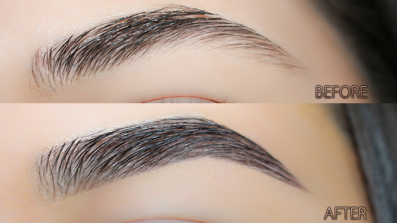 How To Make Your Brows Look Fuller Updated Brow Tutorial Youtube
