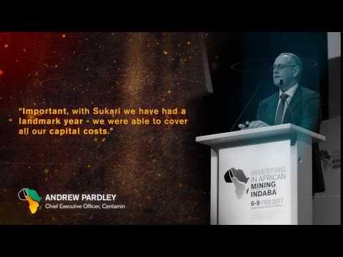 Mining Indaba 2017: Andrew Pardley - CEO, Centamin