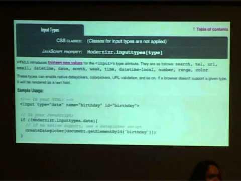 Tomorrow's Tech Today: HTML 5
