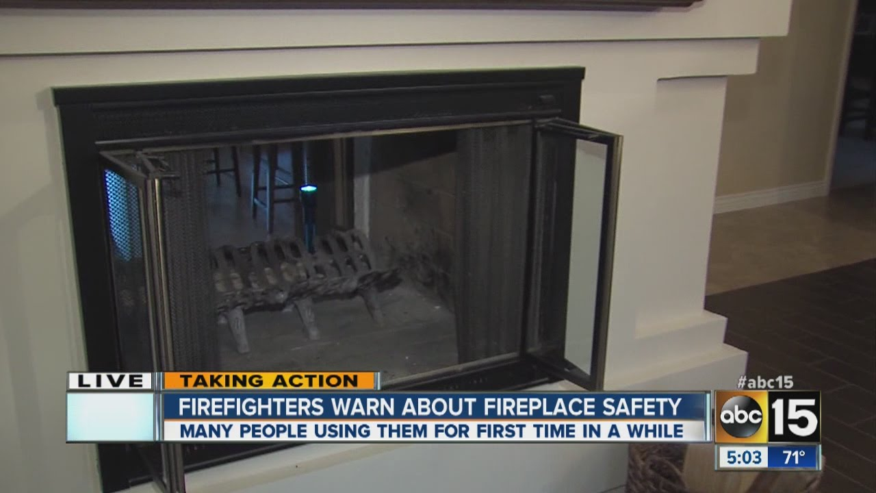 Tips on fireplace safety - YouTube